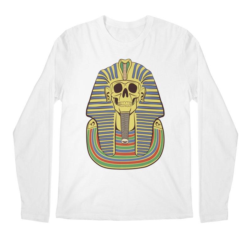 Skull Tut Men's Longsleeve T-Shirt by funnyfuse's Artist Shop