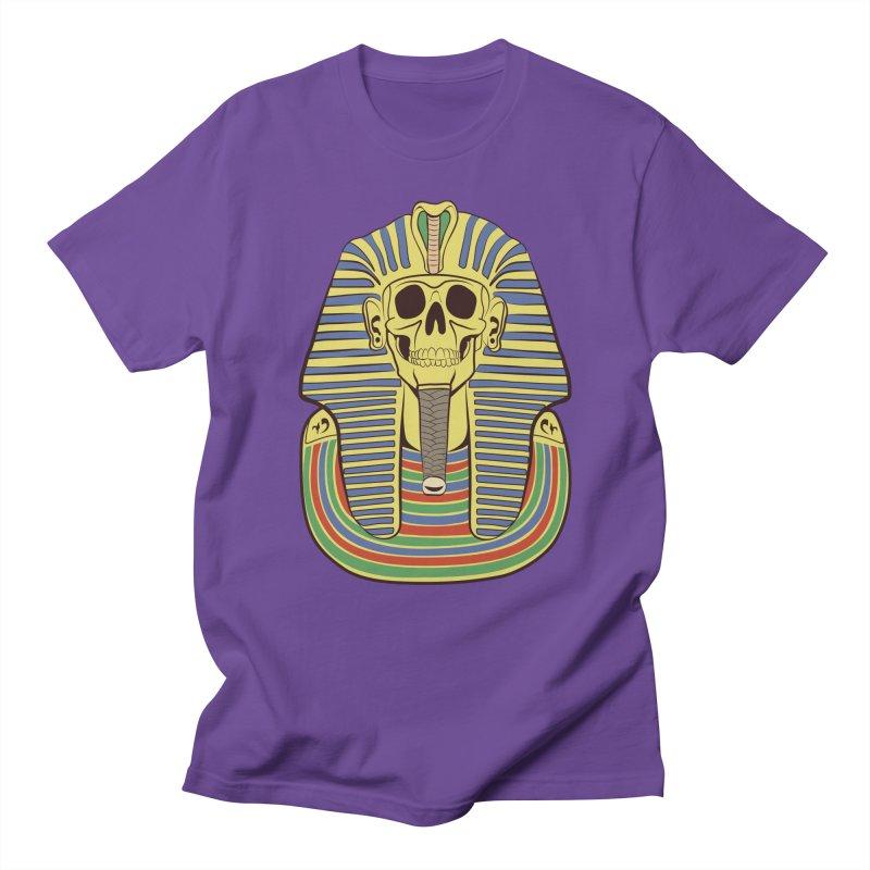 Skull Tut Men's Regular T-Shirt by funnyfuse's Artist Shop