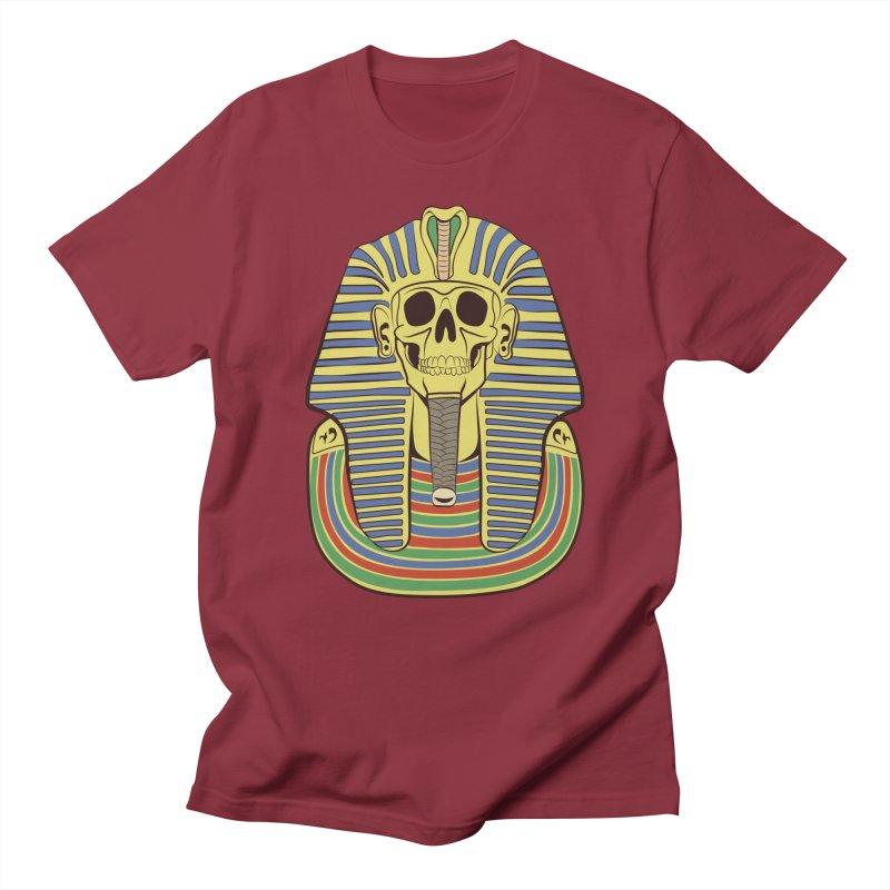 Skull Tut Women's Regular Unisex T-Shirt by funnyfuse's Artist Shop