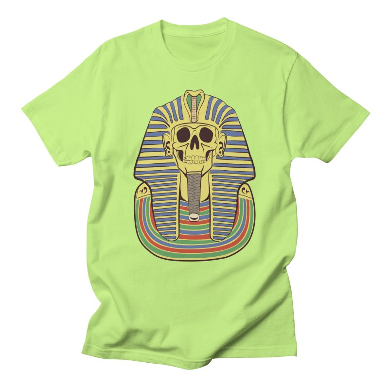 Skull Tut Men's Regular T-Shirt by funnyfuse's Artist Shop