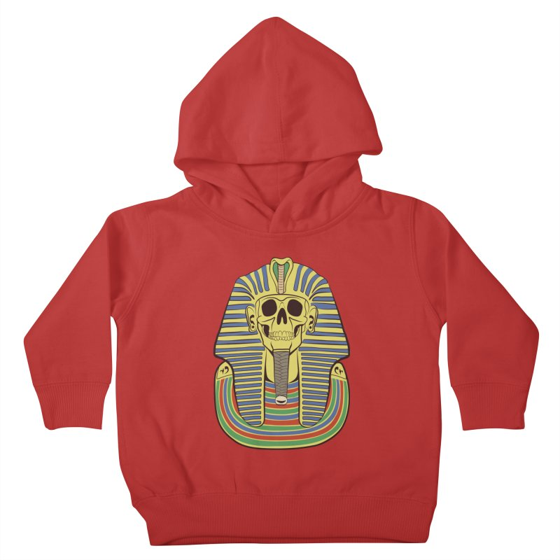 Skull Tut Kids Toddler Pullover Hoody by funnyfuse's Artist Shop