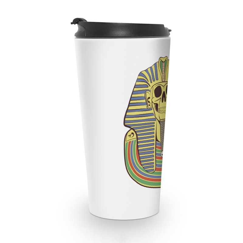 Skull Tut Accessories Mug by funnyfuse's Artist Shop
