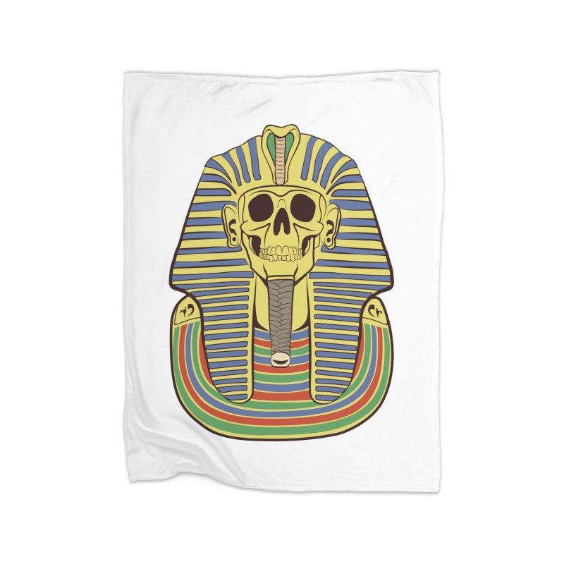 Skull Tut Home Blanket by funnyfuse's Artist Shop