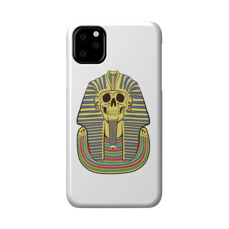 Skull Tut Accessories Phone Case by funnyfuse's Artist Shop