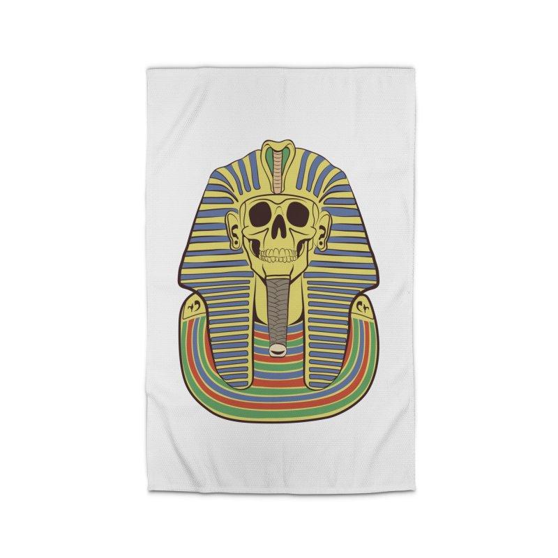 Skull Tut Home Rug by funnyfuse's Artist Shop
