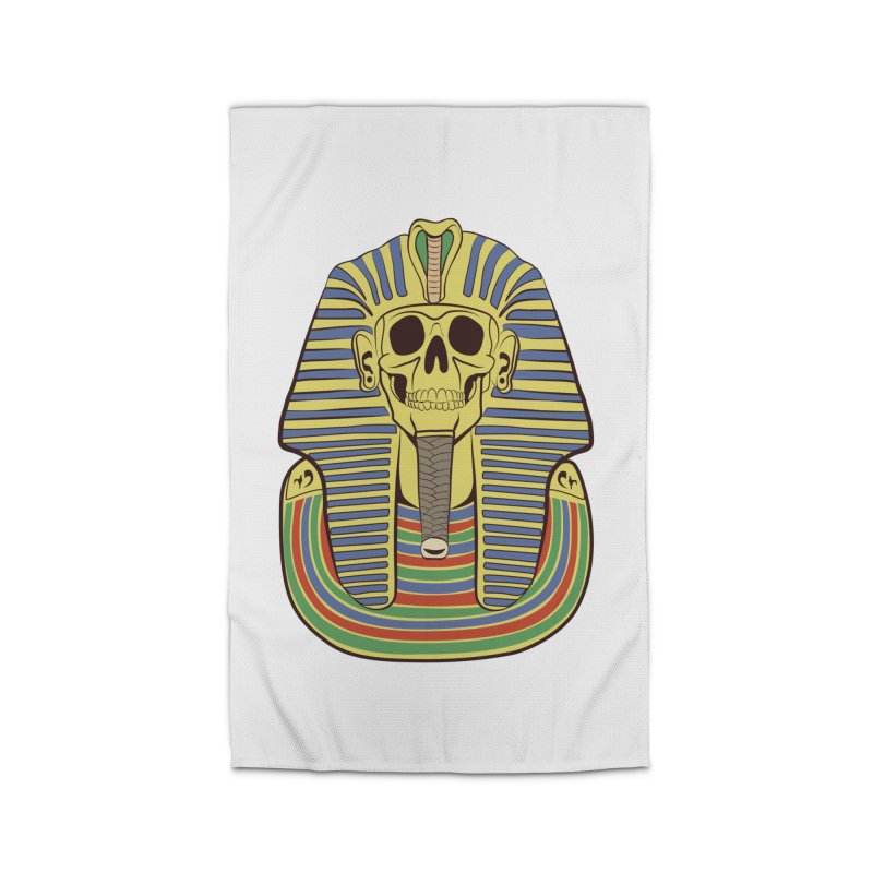 Skull Tut Home Rug by funnyfuse's Artist Shop