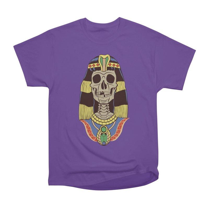 Skull Cleopatra Men's T-Shirt by funnyfuse's Artist Shop