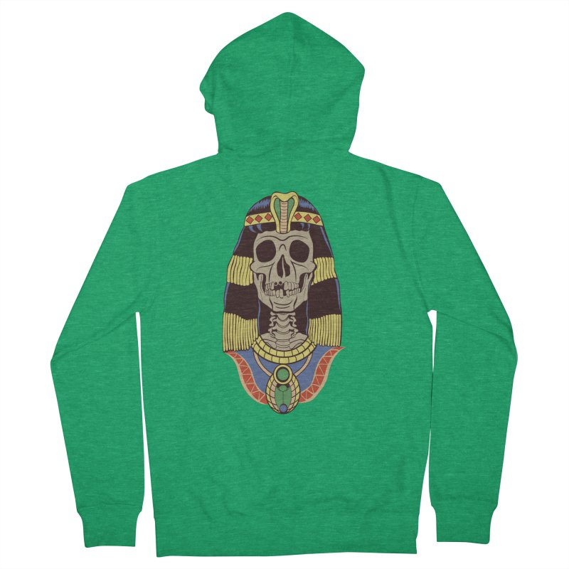 Skull Cleopatra Women's Zip-Up Hoody by funnyfuse's Artist Shop