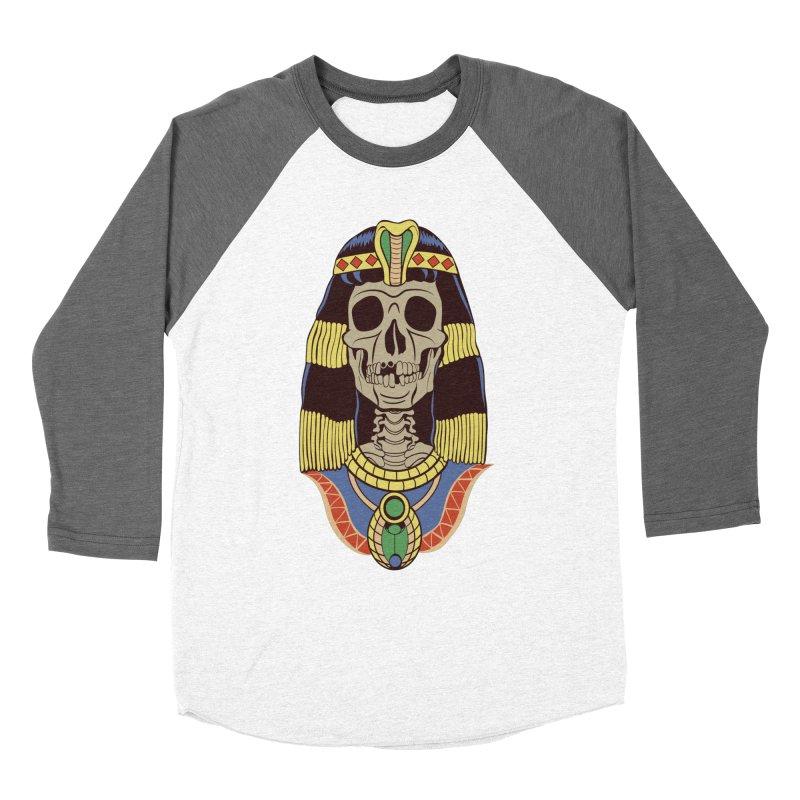 Skull Cleopatra Women's Longsleeve T-Shirt by funnyfuse's Artist Shop