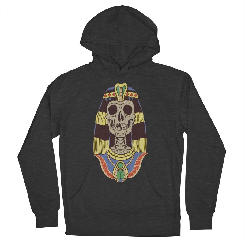 Skull Cleopatra Women's French Terry Pullover Hoody by funnyfuse's Artist Shop
