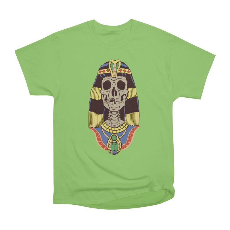 Skull Cleopatra Women's Heavyweight Unisex T-Shirt by funnyfuse's Artist Shop