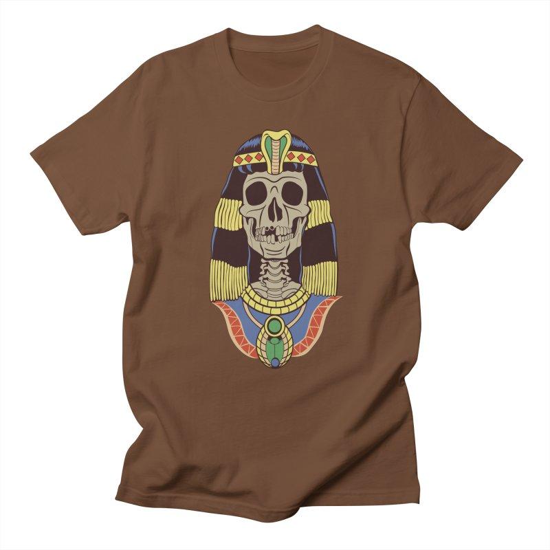 Skull Cleopatra Women's Regular Unisex T-Shirt by funnyfuse's Artist Shop