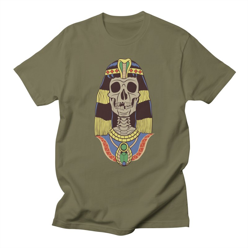 Skull Cleopatra Women's Unisex T-Shirt by funnyfuse's Artist Shop