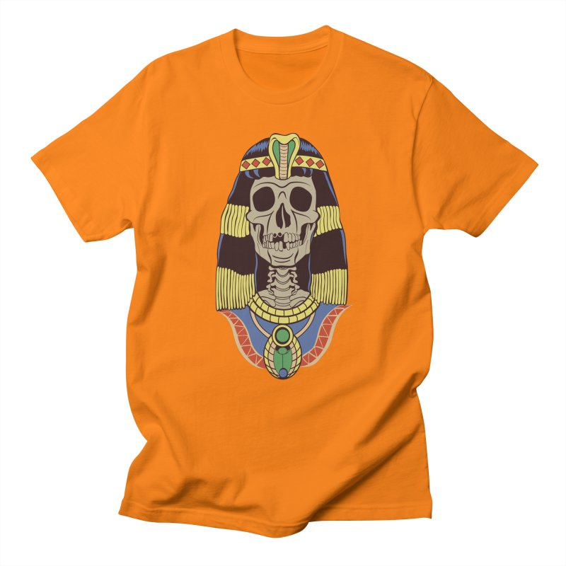Skull Cleopatra Women's Regular Unisex T-Shirt by funnyfuse's Artist Shop
