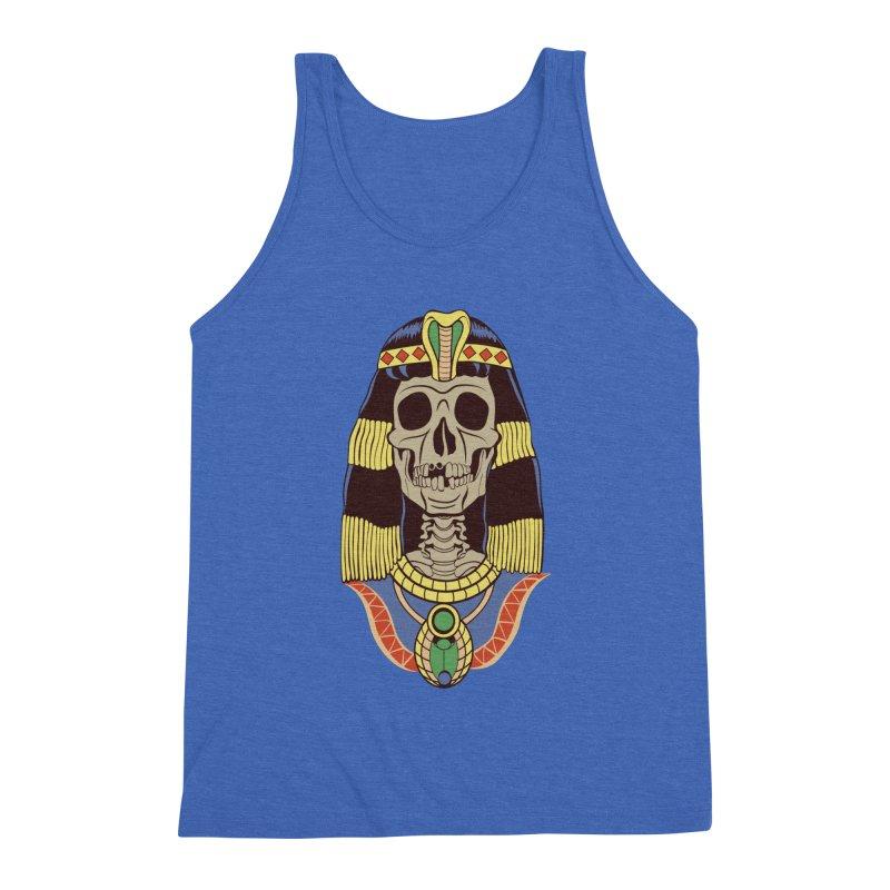 Skull Cleopatra Men's Tank by funnyfuse's Artist Shop