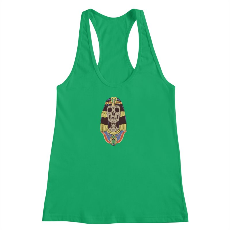 Skull Cleopatra Women's Tank by funnyfuse's Artist Shop