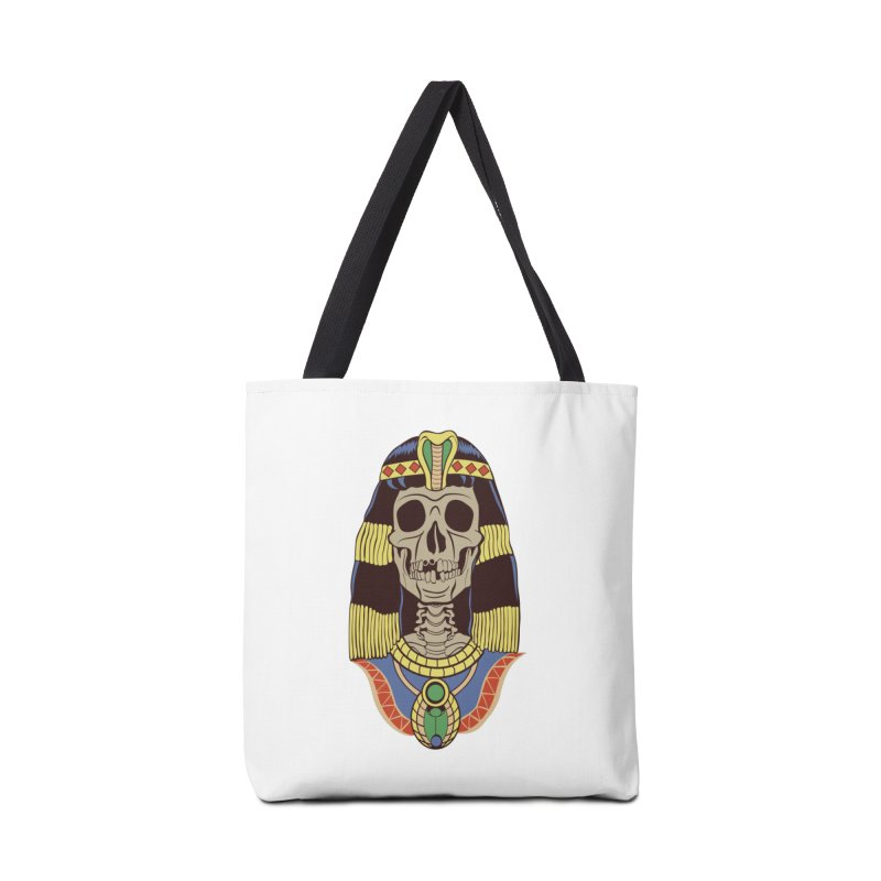 Skull Cleopatra Accessories Bag by funnyfuse's Artist Shop