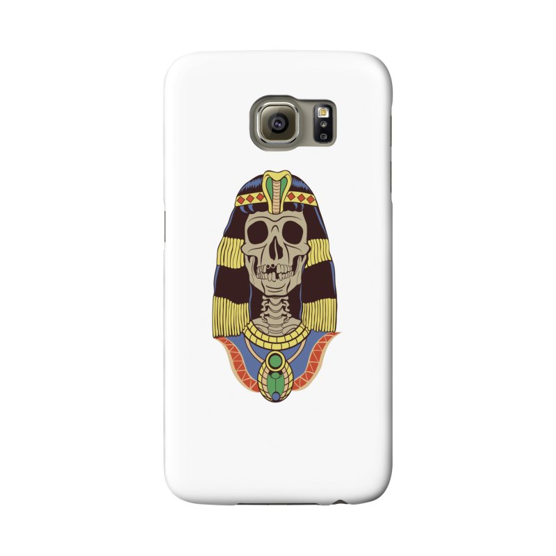 Skull Cleopatra Accessories Phone Case by funnyfuse's Artist Shop