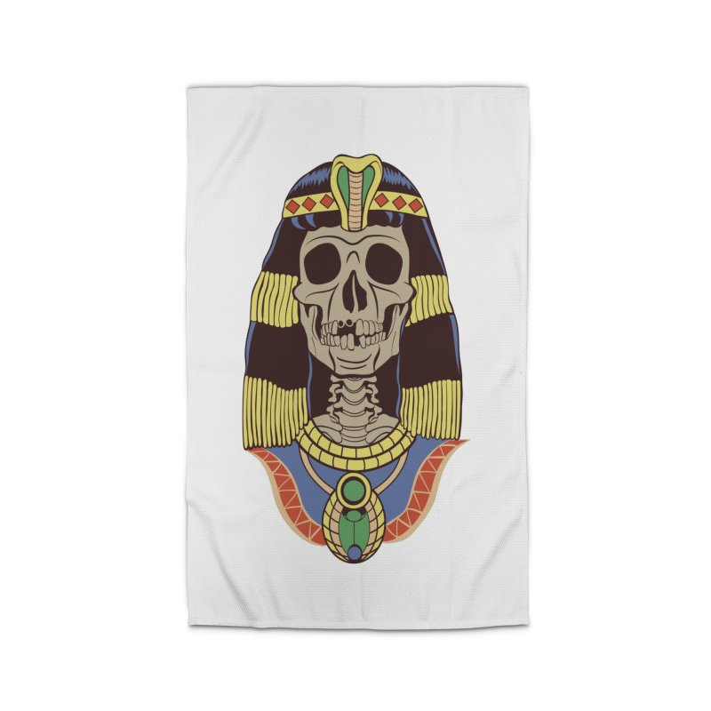 Skull Cleopatra Home Rug by funnyfuse's Artist Shop