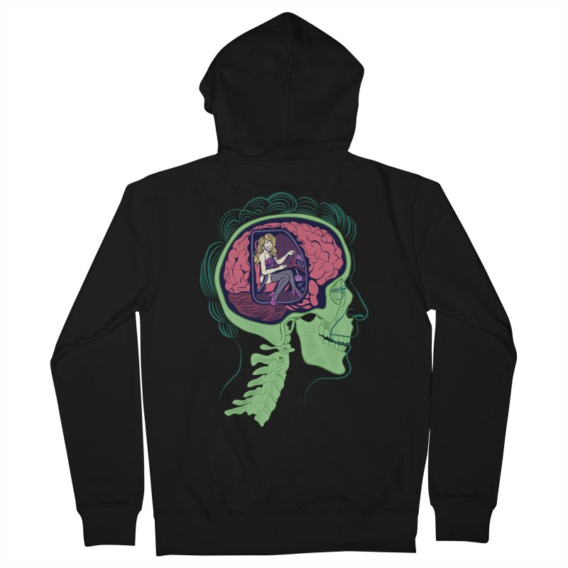 Sex Drive Women's French Terry Zip-Up Hoody by funnyfuse's Artist Shop