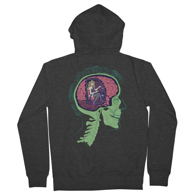 Sex Drive Men's Zip-Up Hoody by funnyfuse's Artist Shop