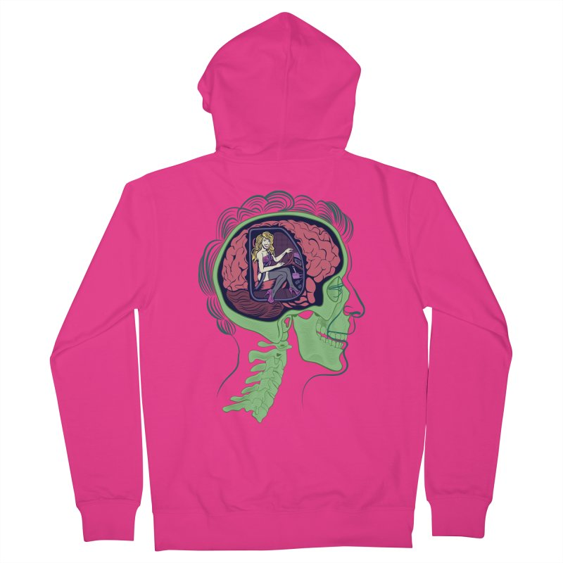 Sex Drive Men's French Terry Zip-Up Hoody by funnyfuse's Artist Shop