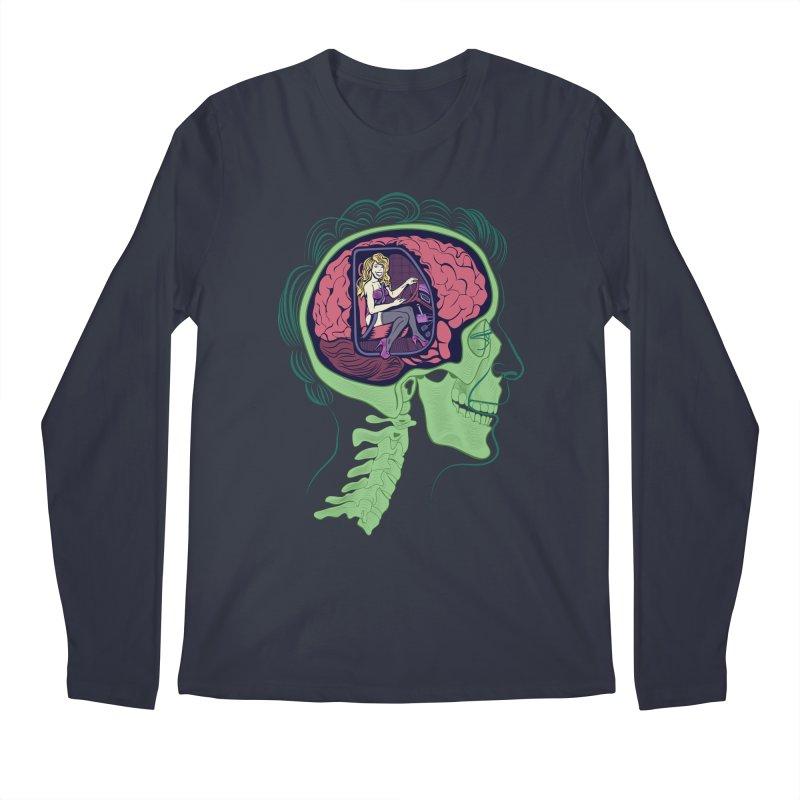 Sex Drive Men's Regular Longsleeve T-Shirt by funnyfuse's Artist Shop