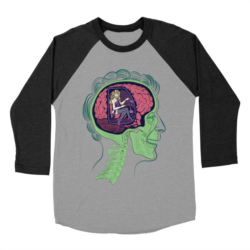 Sex Drive Men's Baseball Triblend T-Shirt by funnyfuse's Artist Shop