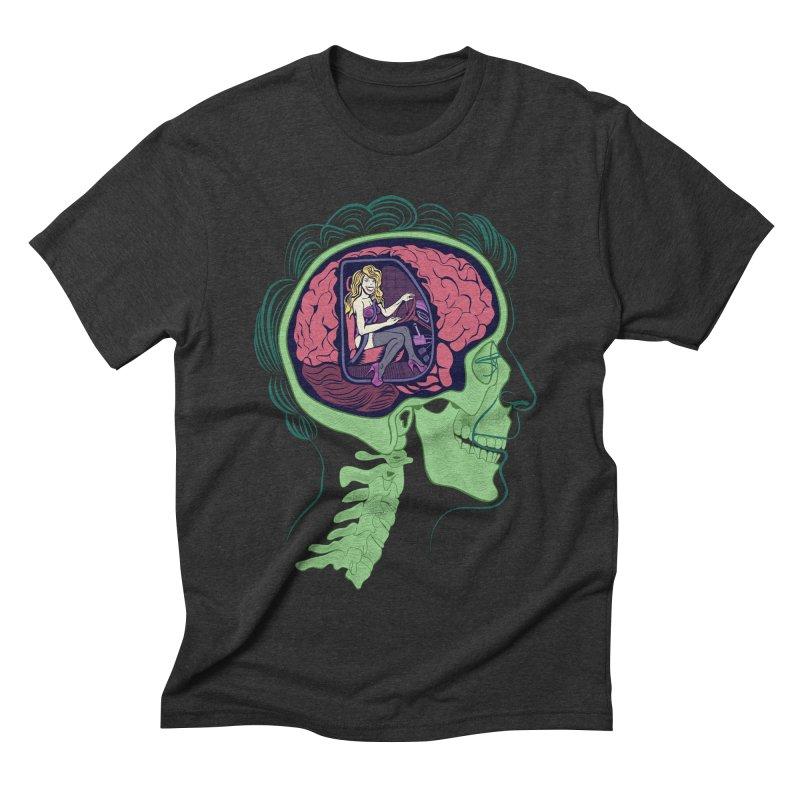 Sex Drive Men's Triblend T-shirt by funnyfuse's Artist Shop