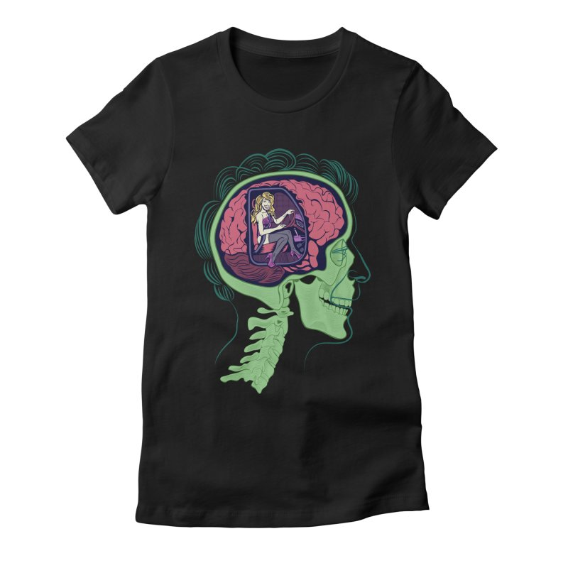 Sex Drive Women's Fitted T-Shirt by funnyfuse's Artist Shop
