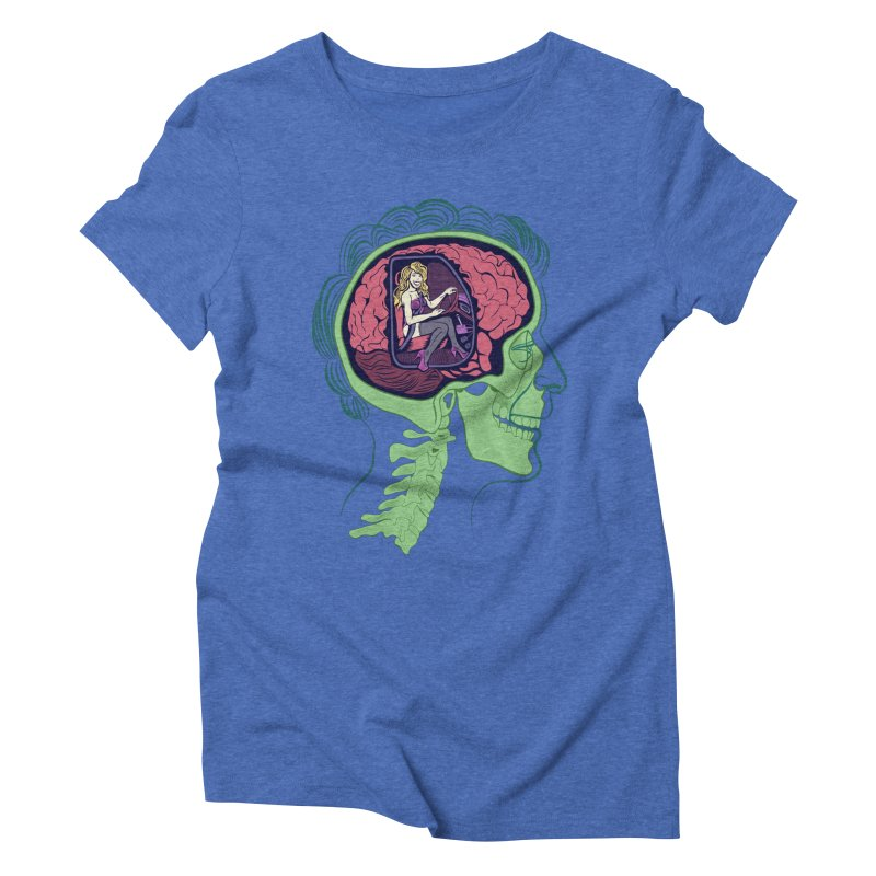 Sex Drive Women's Triblend T-Shirt by funnyfuse's Artist Shop