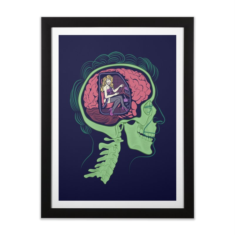 Sex Drive Home Framed Fine Art Print by funnyfuse's Artist Shop