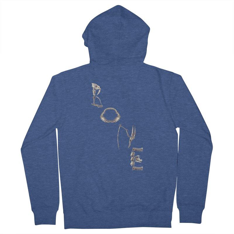 Bone Men's Zip-Up Hoody by funnyfuse's Artist Shop