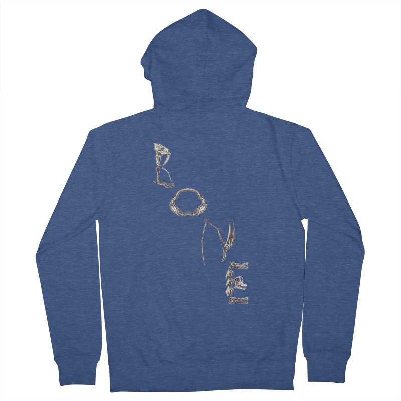 Bone Women's Zip-Up Hoody by funnyfuse's Artist Shop
