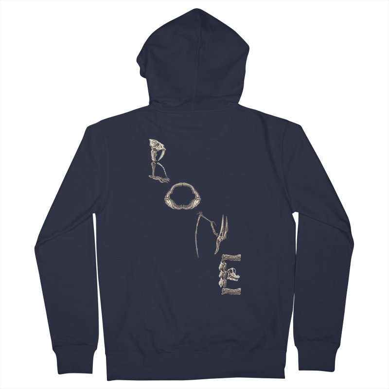Bone Men's Zip-Up Hoody by funnyfuse's Artist Shop