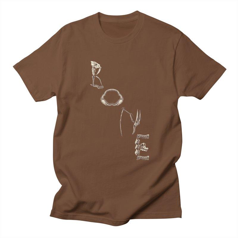 Bone Men's Regular T-Shirt by funnyfuse's Artist Shop
