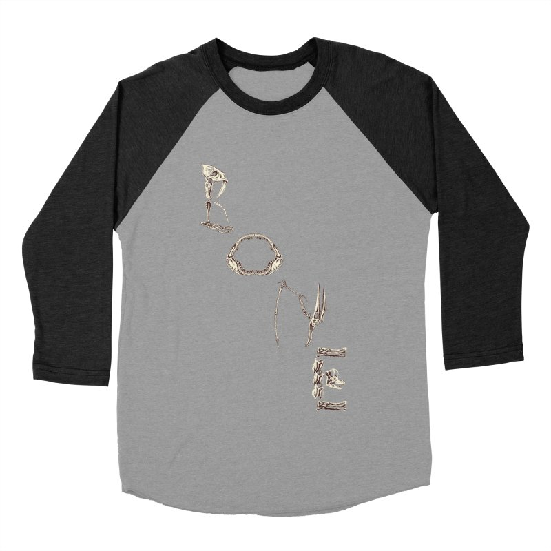 Bone Men's Baseball Triblend T-Shirt by funnyfuse's Artist Shop