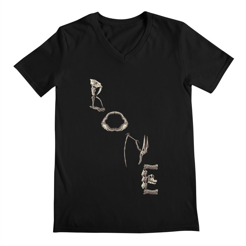 Bone Men's V-Neck by funnyfuse's Artist Shop