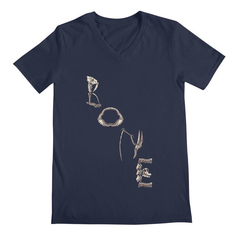 Bone Men's V-Neck by funnyfuse's Artist Shop