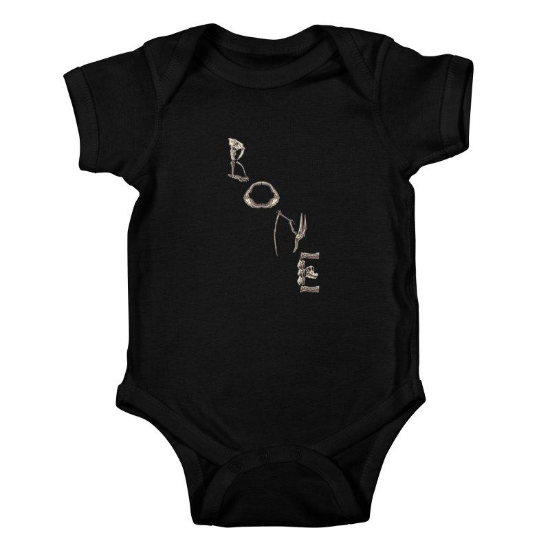 Bone Kids Baby Bodysuit by funnyfuse's Artist Shop