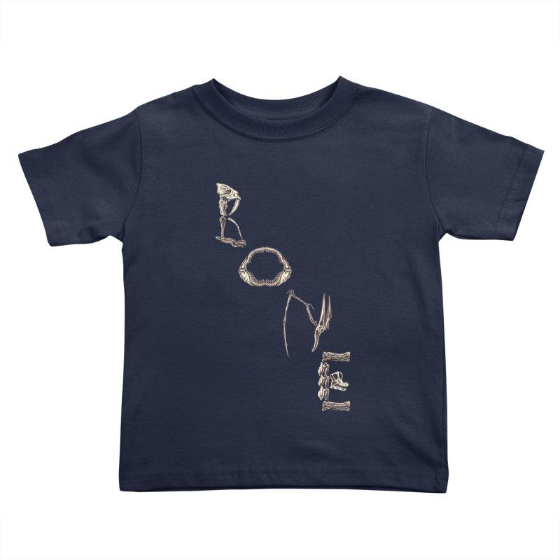 Bone Kids Toddler T-Shirt by funnyfuse's Artist Shop