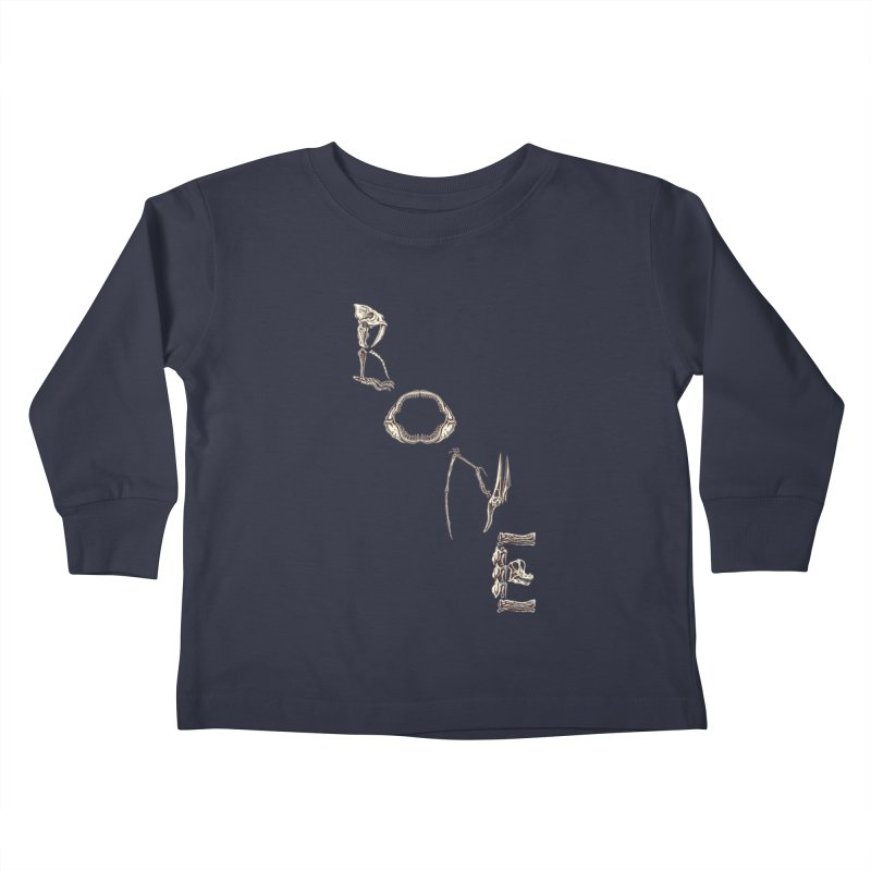Bone Kids Toddler Longsleeve T-Shirt by funnyfuse's Artist Shop