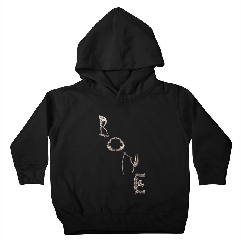Bone Kids Toddler Pullover Hoody by funnyfuse's Artist Shop