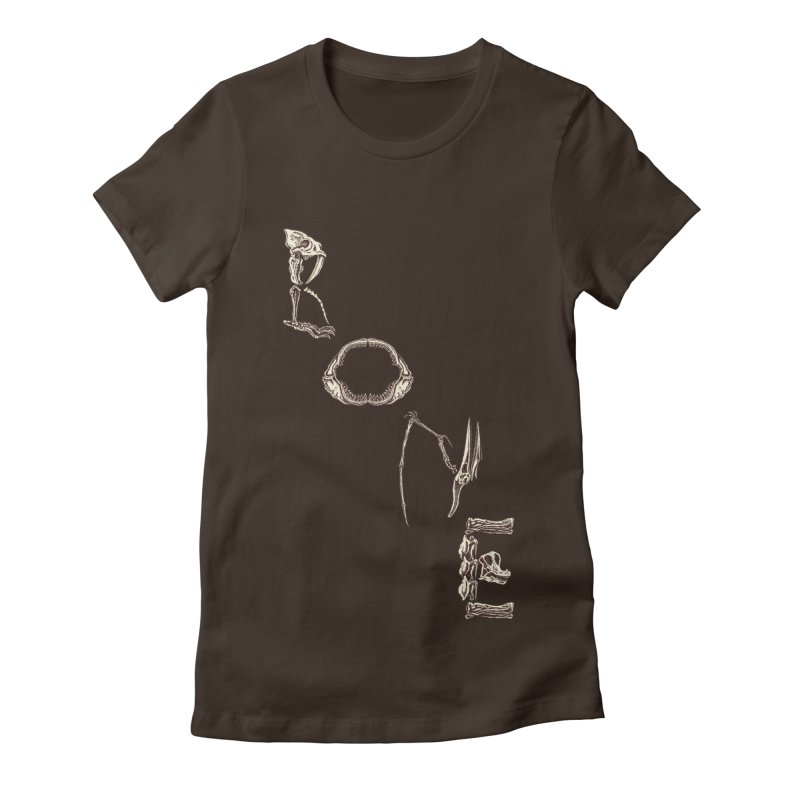 Bone Women's T-Shirt by funnyfuse's Artist Shop