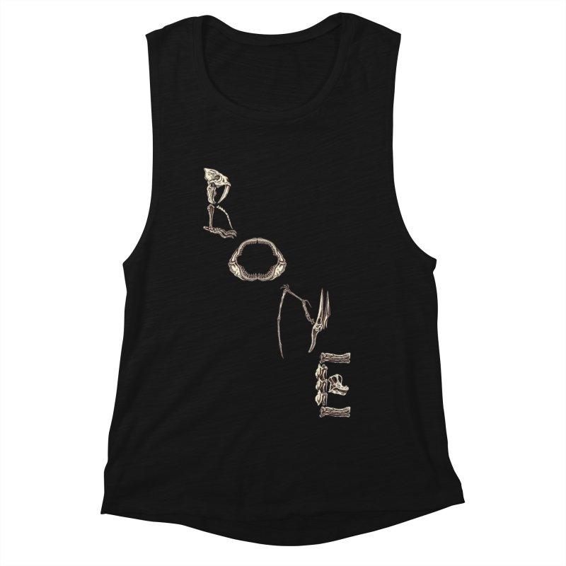 Bone Women's Muscle Tank by funnyfuse's Artist Shop