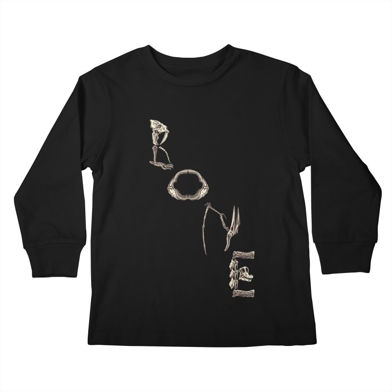 Bone Kids Longsleeve T-Shirt by funnyfuse's Artist Shop