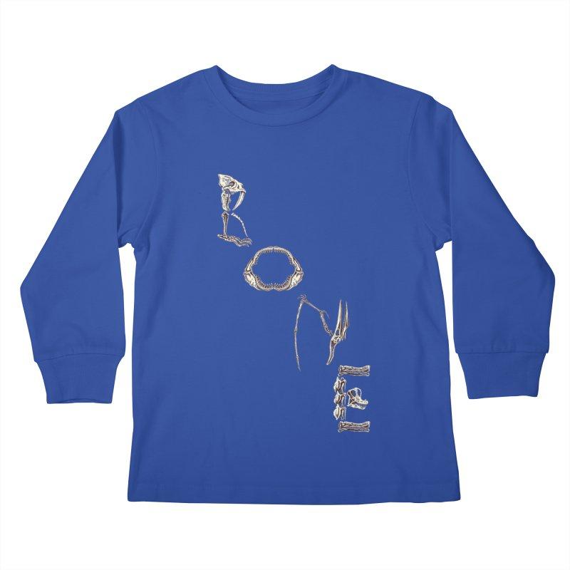 Bone Kids Longsleeve T-Shirt by funnyfuse's Artist Shop