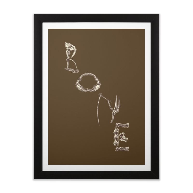 Bone Home Framed Fine Art Print by funnyfuse's Artist Shop