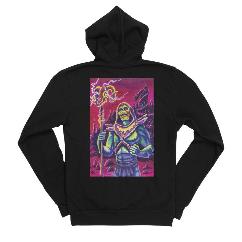 Skeletor Men's Zip-Up Hoody by funnyfuse's Artist Shop