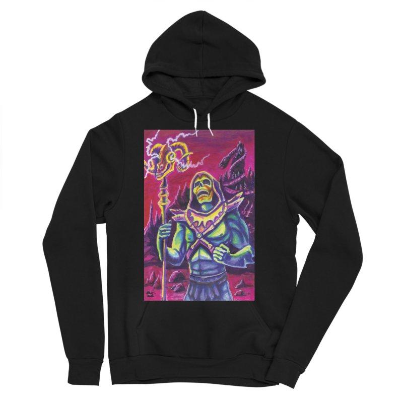 Skeletor Men's Sponge Fleece Pullover Hoody by funnyfuse's Artist Shop